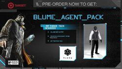 Blume Agent Pack-WatchDogs