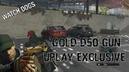 Watch Dogs - Gold D50 Gun (Uplay Exclusive)