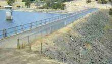 Rockfill dam (Risdon)