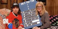 Wayne's Top Ten Things About SNL