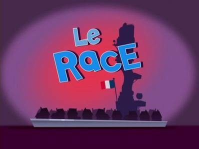 Le Race Title Card