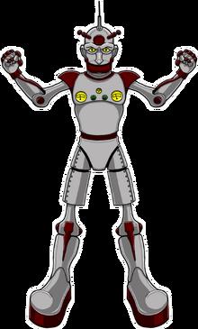 Iron Emperor - sticker
