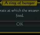 Ring of Hunger