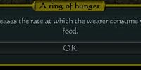 Ring of Hunger