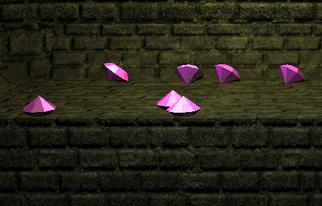 Violet gems