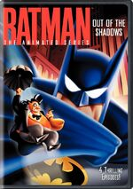 Batman Out of the Shadows DVD