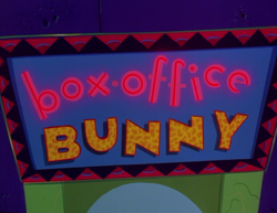 Box Office Bunny title card