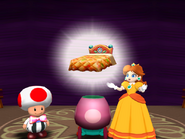 DaisysBed princess daisy Mario party 4 gamecube