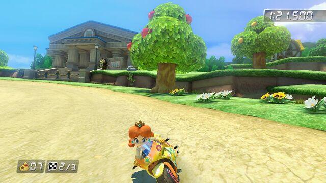 File:Mario Kart 8 PRINCESS Orange.jpg