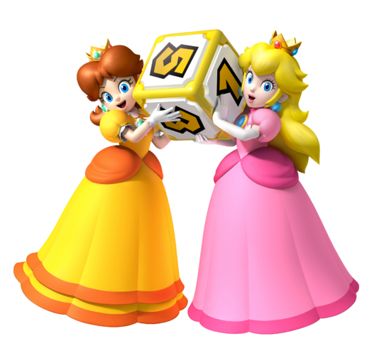File:Peach & Daisy MPA Artwork.png