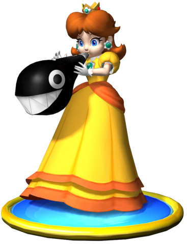 File:Daisy Art - Mario Party 5.png