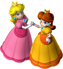 Peach and Daisy MP7