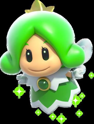 File:456px-Green Fairy Artwork - Super Mario 3D World.png