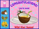 Wild kiwi sunset