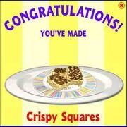 Crispy squares
