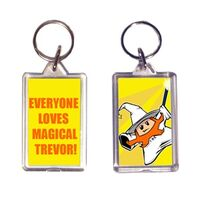 Magical Trevor Key Ring Yellow