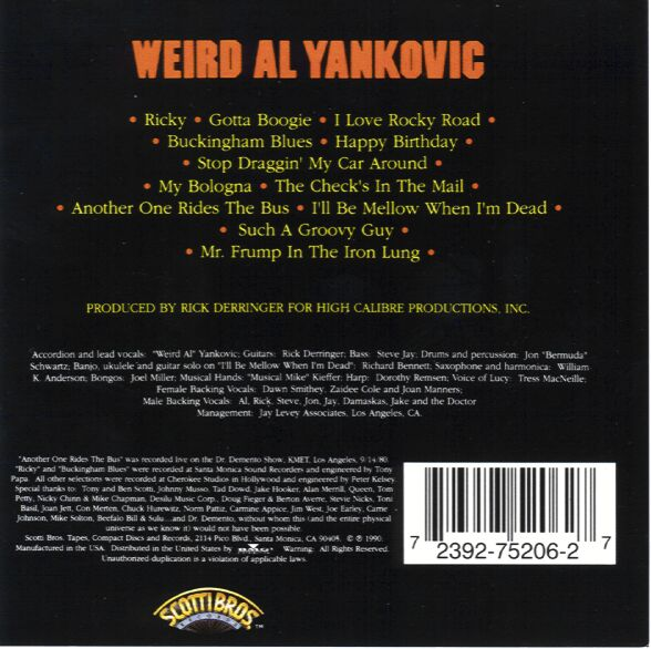 Weirdalyankovic-back