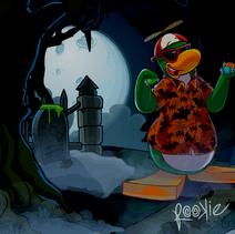 Club penguin halloween party12