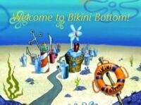 Welcome to Bikini Bottom title card