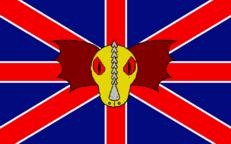 Flagge des zweiten britischen Empire