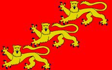 Flagge des ersten britischen Empire