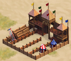 Jousting-arena