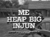 Me Heap Big Injun