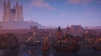 WesterosCraft Walks Episode 72 King's Landing Part 1 Welcome to Kings Landing