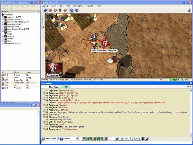 File:Flaming Skulls combat.jpg