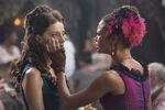 Angela Sarafyan as Clementine, Thandie Newton as Maeve ..