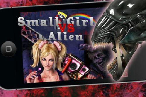 Small Girl vs Alien
