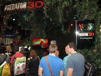 SDCC Predator 3D