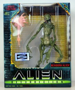 Newborn Alien Figure