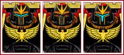 Phoenix Knights Helmet Variants
