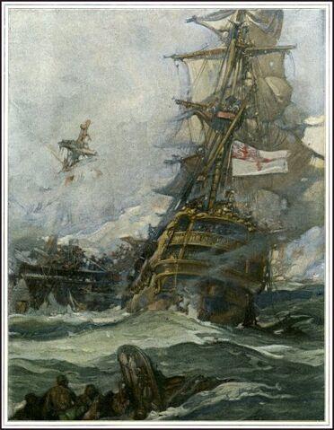File:Sinking of the HMS Morpeth.jpg