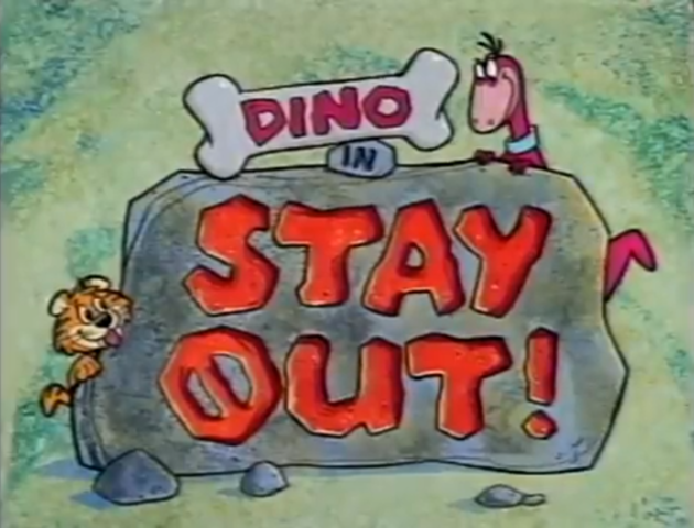 File:Dino in Stay Out Title Card.png