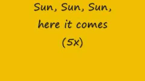 The Beatles - Here Comes the Sun (Lyrics)