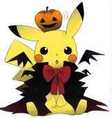 Halloween pikachu color fan art by moonsunanime-d5h3b4s