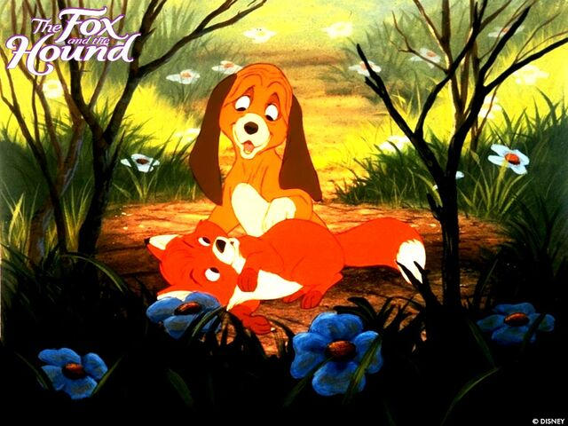 File:Fox and the Hound Wallpaper JxHy.jpg
