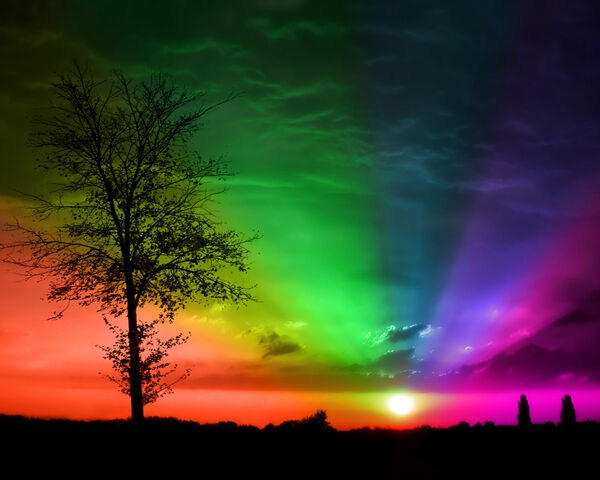 File:Rainbow-Sunset.jpg