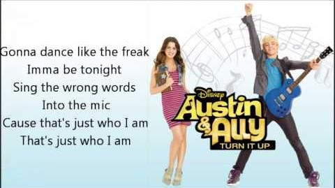 16 - Who I Am Lyrics (FULL SONG) - Ross Lynch - Austin & Ally