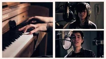 """""""Just A Dream"""" by Nelly - Sam Tsui & Christina Grimmie-0"""