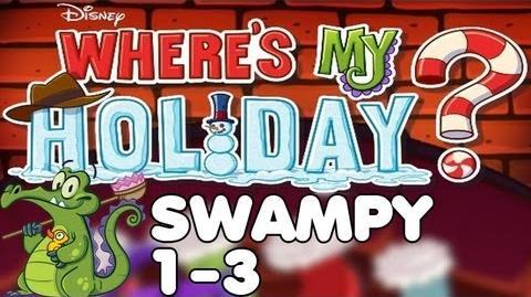 Where's My Holiday? - Level 1-3 - Swampy Walkthrough