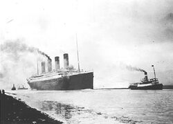 Rms titanic sea trials april 2 1912