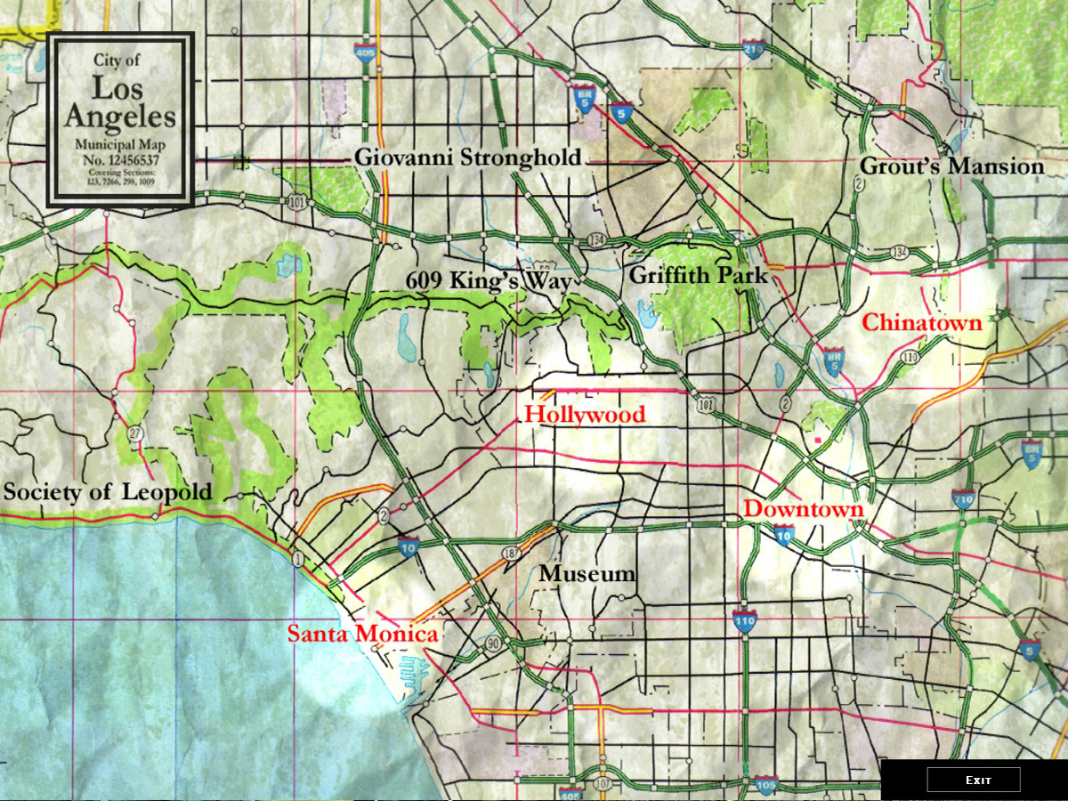 Los Angeles CWOD White Wolf FANDOM Powered By Wikia - City of los angeles jurisdiction map