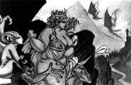Virstania and her Gargoyles