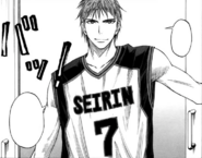 Kiyoshi at the first practice