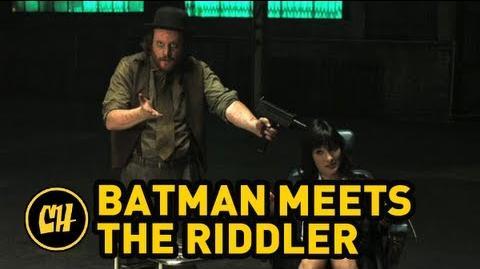 Batman Meets the Riddler
