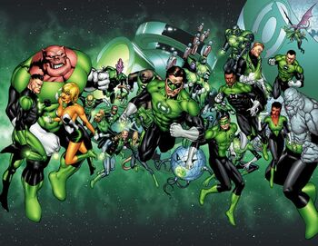 Green Lantern Corps 02