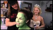 """Fly Girl Backstage at """"Wicked"""" with Lindsay Mendez, Episode 1 'Greenifying' with the Fam"""